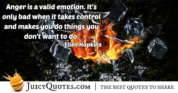 Anger Emotion Quote