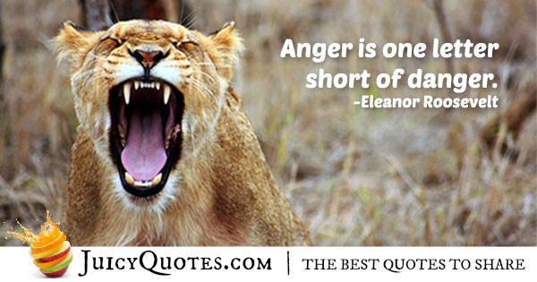 Anger Is Madness Quote