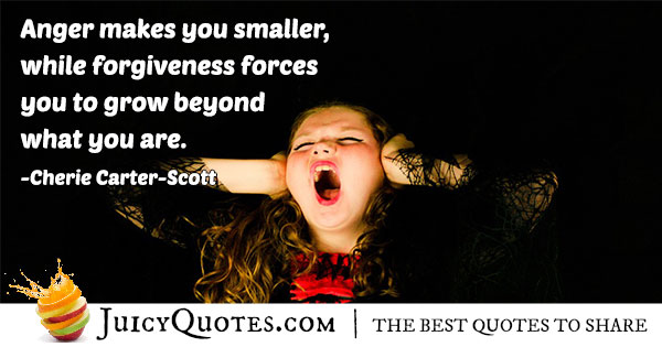 Quote About Anger