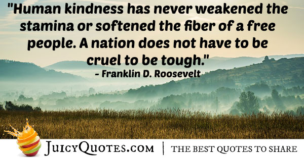 Human Kindness Quote