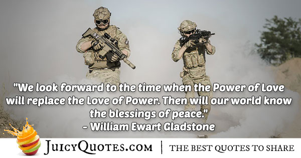Love of Power Quote