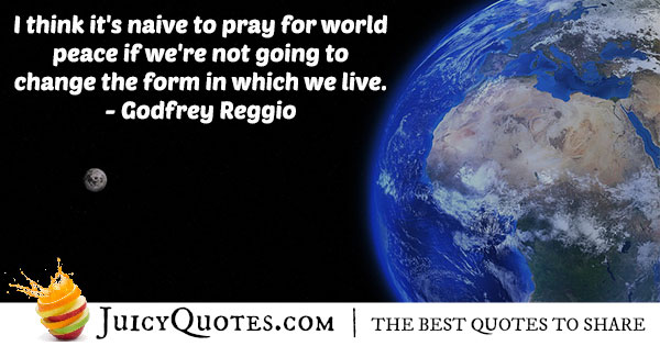 Pray For World Peace Quote