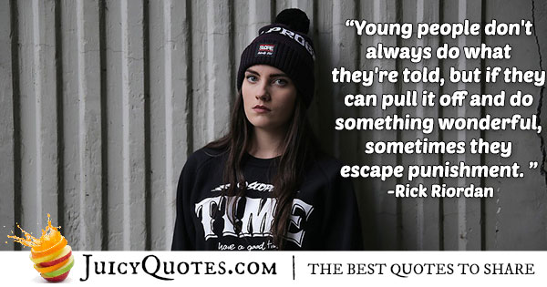 Rebel Youth Quote