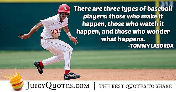 Baseball Player Quote