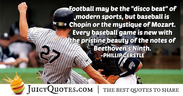 Baseball Sport Quote