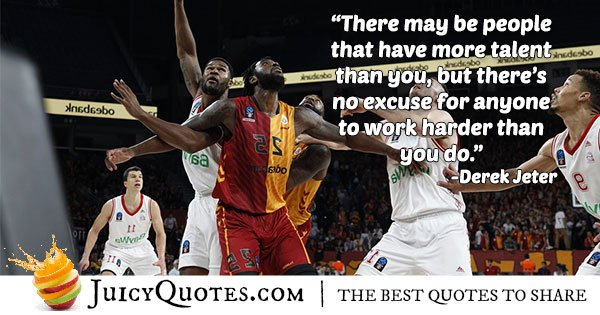 Basketball Talent Quote