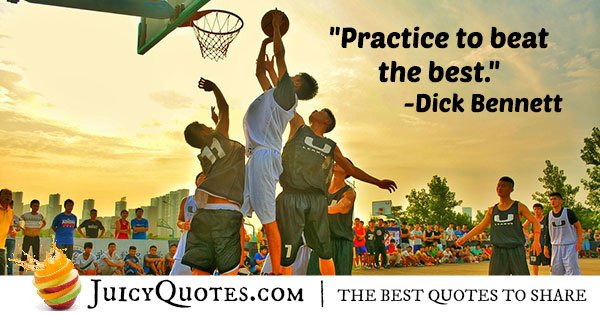 Practice to Win Quote