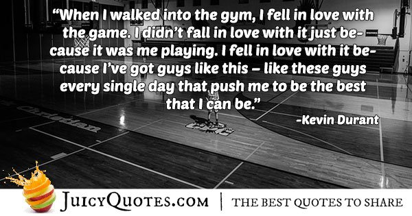 I Love Basketball Quote