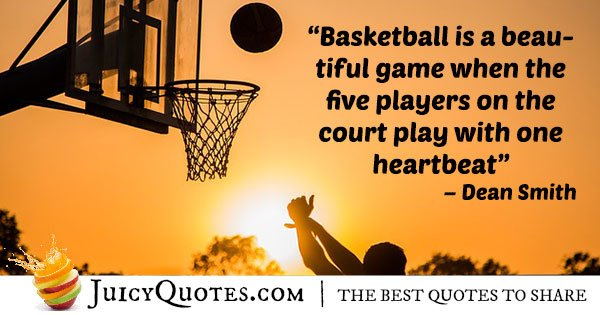 Basketball is Beautiful Quote