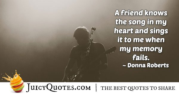 Best Friend Knows Quote