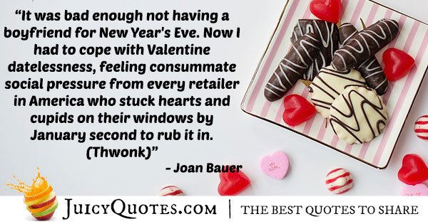 Boyfriend Quote - Joan Bauer