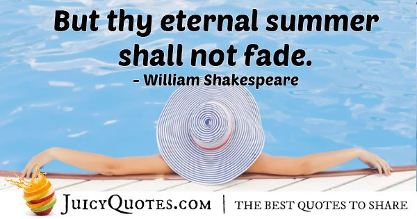 Summer Immortality Quote