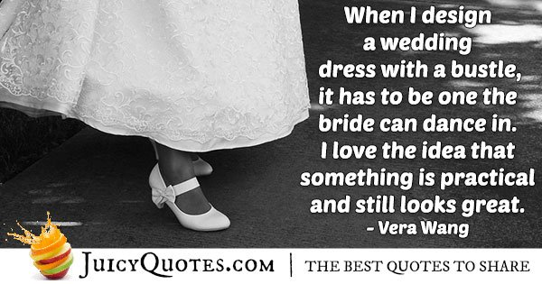 Designing A Wedding Dress Quote