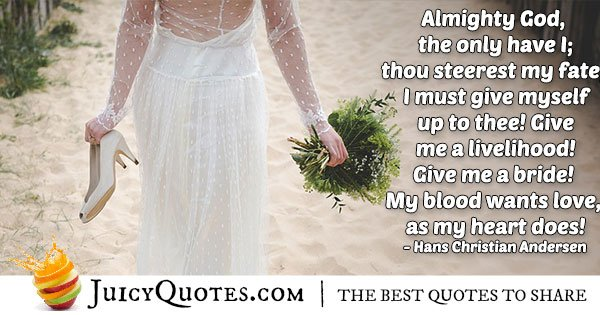Bride Poetry Quote