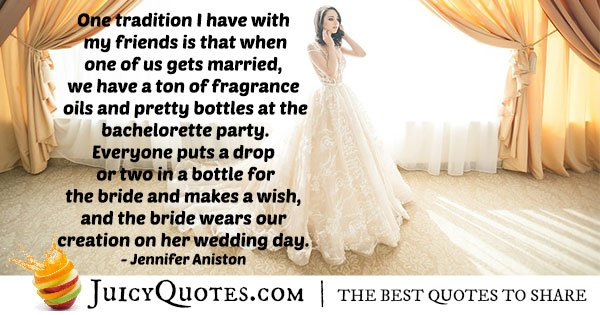 Bride Tradition Quote