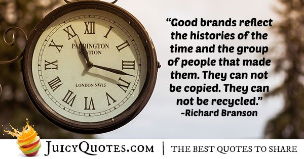 Business Brand Quote