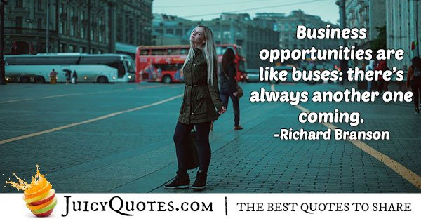 Business Opportunity Quote