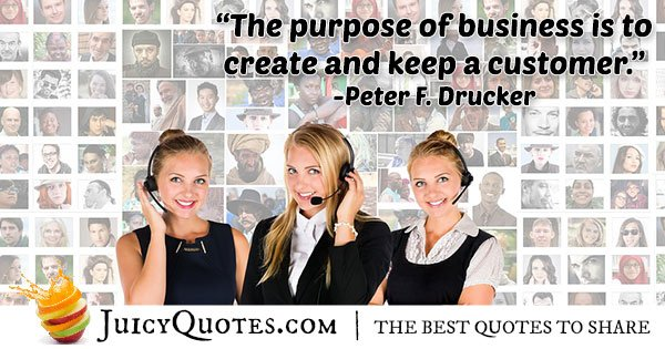 Purpose of Business Quote