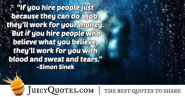 Hiring In Business Quote