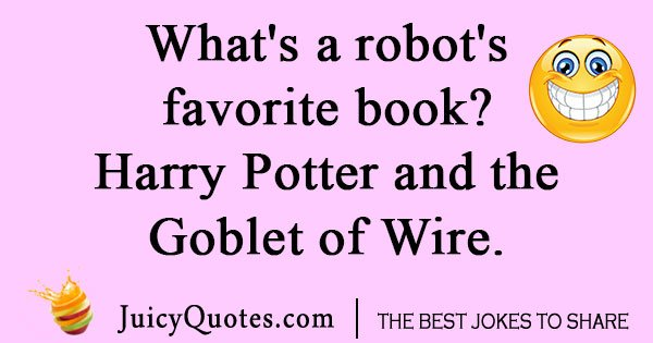 Harry Potter Robot Joke