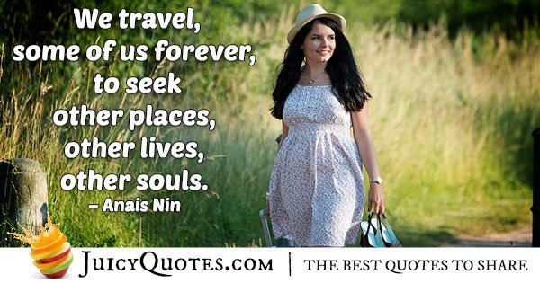 Travel Forever Quote