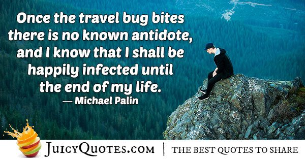 Travel Addiction Quote