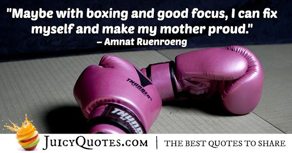 Boxing And Focus Quote