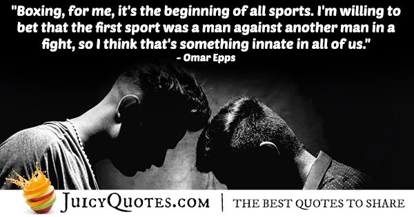 Boxing Sport Quote