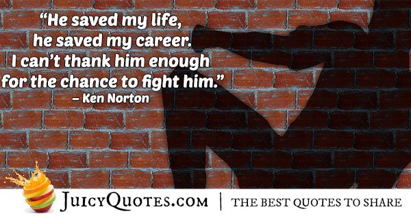 Boxing Fight Quote