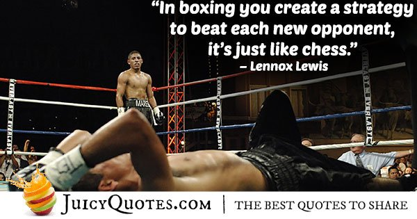 Boxing Strategy Quote