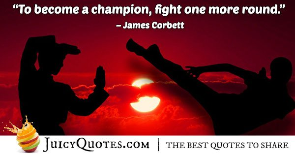Boxing Champion Quote