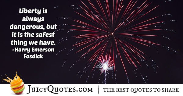 Liberty 4th of July Quote