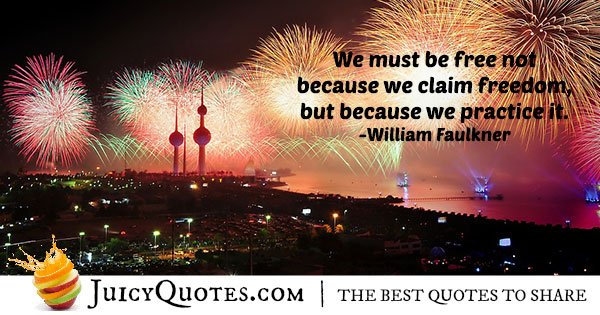 Fourth Of July Freedom Quote