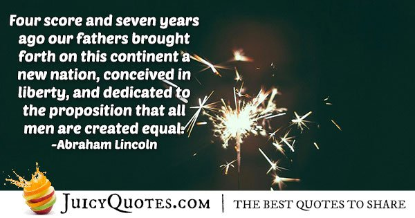 American 4th of July Quote