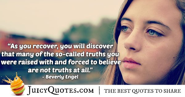 Recover Abuse Quote