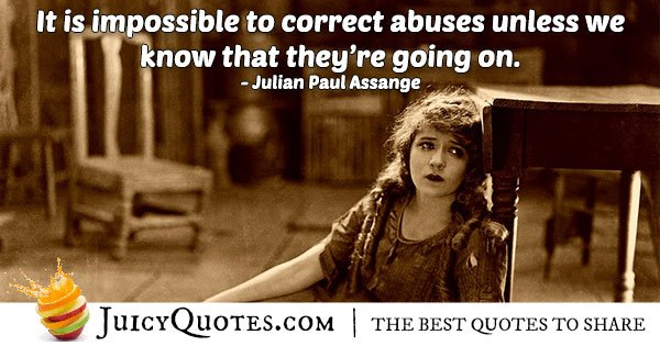Correct Abuse Quote