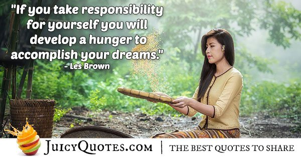 Accomplish Your Dreams Quote