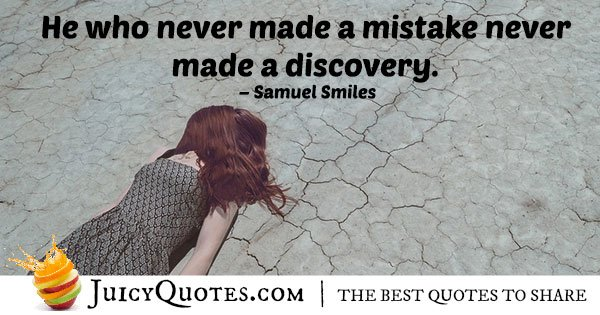 Mistakes and Accomplishments Quote