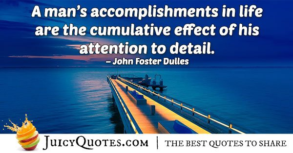 Accomplishments In Life Quote