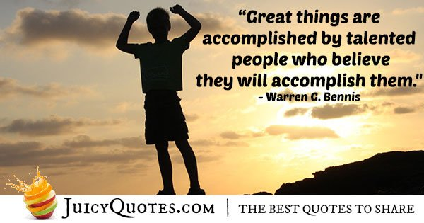 Accomplish Things Quote