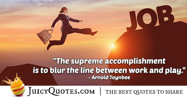 Supreme Accomplishment Quote
