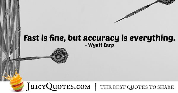 Accuracy and Speed Quote