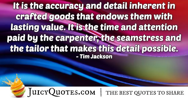 Details and Accuracy Quote