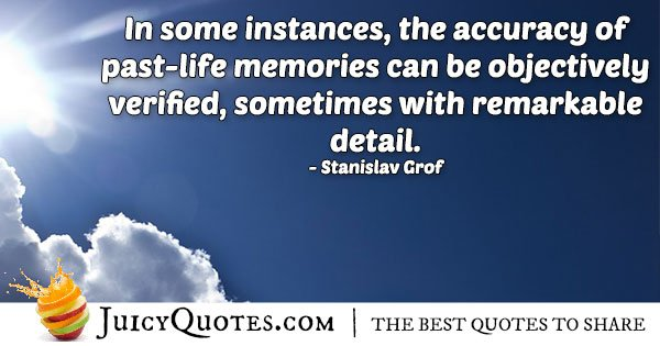 Accuracy of Past Lives Quote