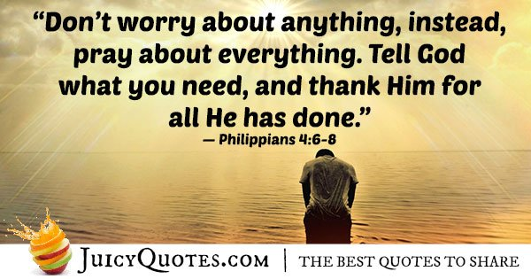 Philippians Bible Quote