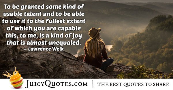 Fullest Abilities Quote