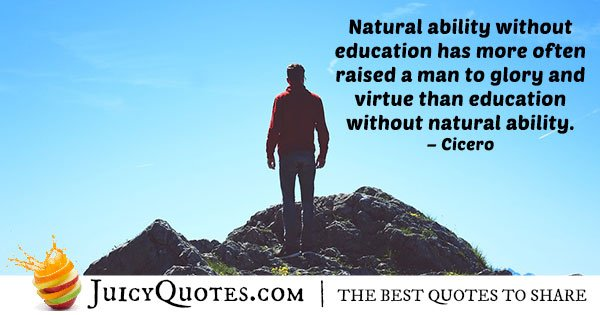 Natural Abilities Quote