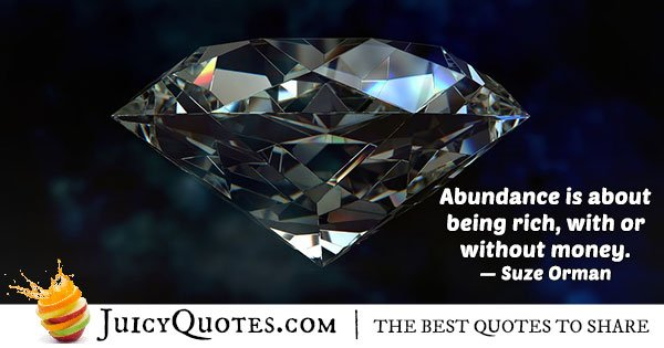 Abundance and Money Quote
