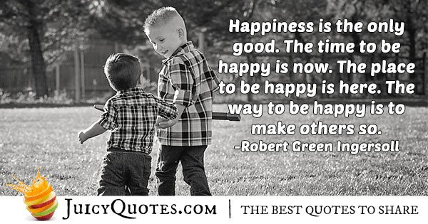 Altruism and Happiness Quote