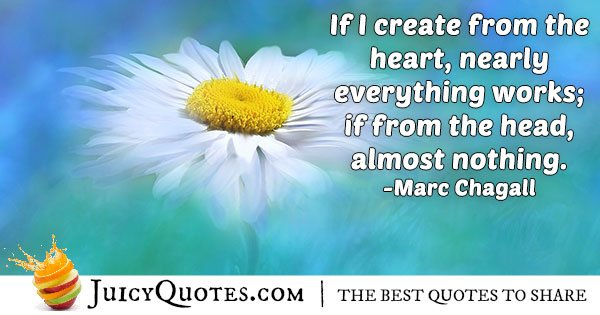 Creation of Art Quote